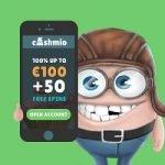 Cashmio Casino – 20 Free Spins & €30 Bonus