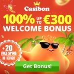 Casibon Casino – €300 Welcome Bonus