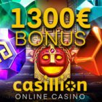 Casillion Casino – €1300 Welcome Package