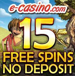 e-casino Free Spins