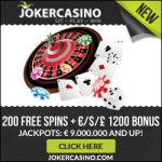 Joker Casino – 50 Free Spins & €/$/£100 Bonus