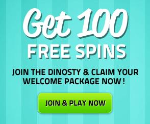 Lucky Dino Casino 7 Free Spins in Lights Slot