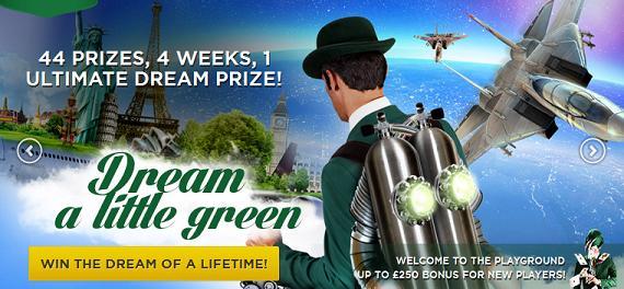 Mr Green Casino Litlle green promo