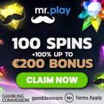 Mr.Play Casino – 20 Free Spins & €200 Bonus