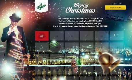 Mr Green Casino Christmas 2013