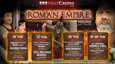 Next Casino Roman Empire Calendar