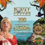 RoyalCasino - 200 Spins & $1500 Bonus