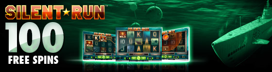 100 Free Spins on Silent Run