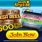 Slots Kingdom Casino – up to 500 Free Spins