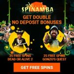 Spinamba Casino - 100 Spins & 100% Bonus