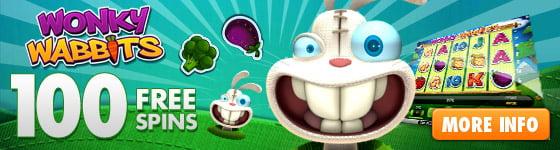 Wonky Wabbits Free Spins