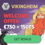 Vikingheim Casino – 150 Free Spins & €750 Bonus