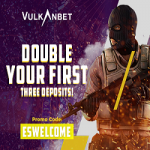 VulkanBet Casino - €600 Welcome Bonus