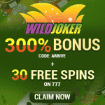 "Wild Joker: 20 Free Spins on ""Vegas Lux"" - June 2020"
