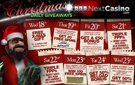Next Casino Christmas 2013